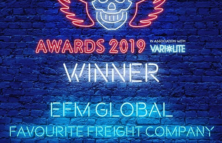 Favourite Freight Company of the Year 2019