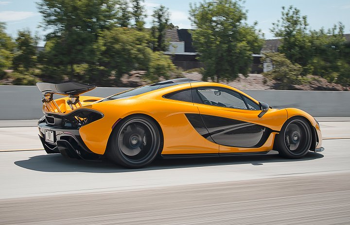 Relocation of Prince Faisal's McLaren P1